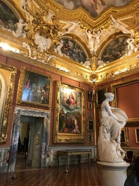 Inside Pitti Palace